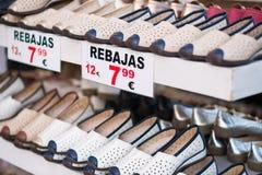 Продажа ботинка Стоковая Фотография RF