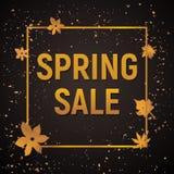 Продажа весны золота Стоковые Фото