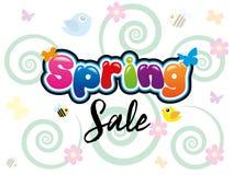 Продажа весны Стоковые Фото