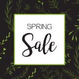 Продажа весны Стоковое Изображение