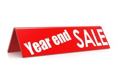 Продажа в конце года Стоковая Фотография