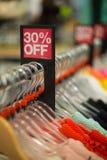Продажа в магазине розничной торговли Стоковые Изображения