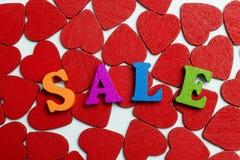 Продажа влюбленности Стоковое Фото