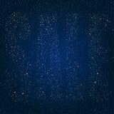 Продажа звезд в небе звезды ночи 10 eps Стоковое Изображение