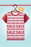 Продажа и мода и покупки Стоковые Фото