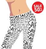 Продажа и мода Стоковое Фото
