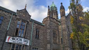 Продажа книг в университете  Торонто Стоковые Изображения