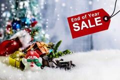 Продажа конца года Стоковое Изображение RF