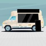 Продажа машины еды Стоковые Фото