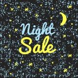 Продажа ночи иллюстрации Стоковая Фотография RF