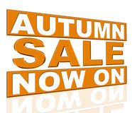 Продажа осени представляет в настоящее время и дешево иллюстрация вектора