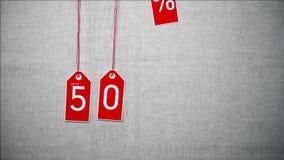 Продажа до 50 процентов  бесплатная иллюстрация