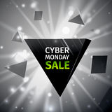 Продажа понедельника кибер Стоковые Изображения RF