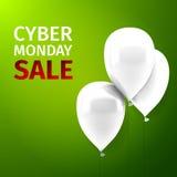 Продажа понедельника кибер Стоковые Фото