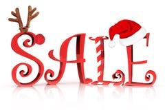 Продажа праздника рождества Стоковые Изображения RF