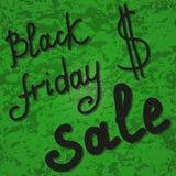 Продажа пятницы черноты знамени предпосылки Стоковое фото RF