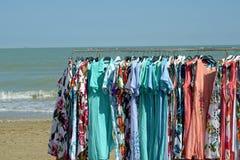Продажа платья на взморье Стоковое фото RF