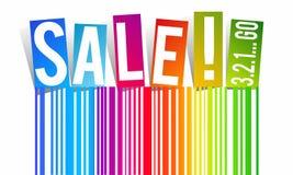 Продажа радуги Стоковые Изображения
