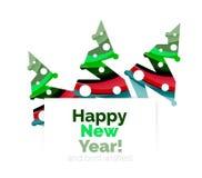 Продажа рождества, поздравительная открытка вектора или знамя иллюстрация вектора