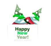 Продажа рождества, поздравительная открытка вектора или знамя иллюстрация штока