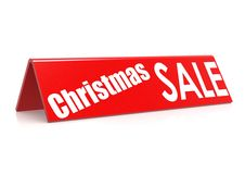 Продажа рождества Стоковое фото RF