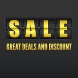 Продажа, сетноой-аналогов дисплей часов сальто Стоковое Фото