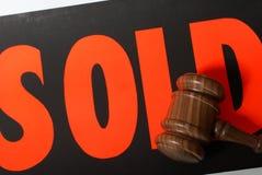 Продажа с аукциона стоковое изображение