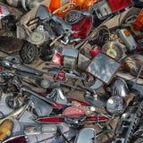 Продажа частей винтажных автомобилей Стоковое Изображение RF