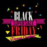 Продажа черная пятница Стоковое Фото
