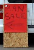 Продажа человека Стоковое Изображение RF