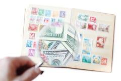 Продажа штемпелей почтового сбора Стоковое Фото