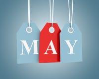 Продажи в мае бесплатная иллюстрация
