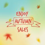 Продажи осени Стоковая Фотография RF