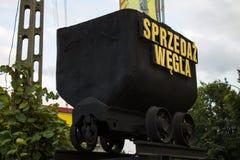 Продажи угля Стоковое Фото