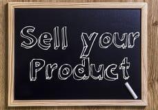 Продайте ваш продукт Стоковая Фотография RF