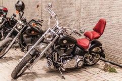 Проламывание Harley Стоковое фото RF