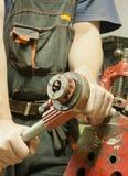 Продевать нитку стальную трубу Стоковые Изображения