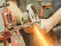 Продевать нитку стальную трубу Стоковое Изображение RF