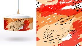 Продемонстрированный комплект цветочных узоров лета безшовных уникально, на абажурах ткани Смогите быть использовано для вышивки, иллюстрация штока