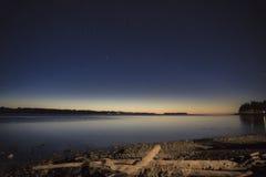 Пролив восхода солнца Georgia Стоковые Фотографии RF