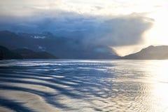 Пролив ферзя Шарлотты, Британская Колумбия, Канада Стоковое Изображение RF