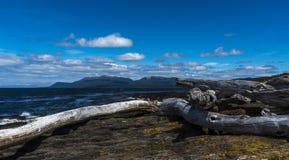 Пролив Magellan, Чили Стоковое фото RF
