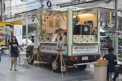 Продовольственный магазин тележки токио в торговом центре платины Стоковые Изображения