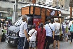 Продовольственный магазин тележки токио в торговом центре платины Стоковые Изображения RF