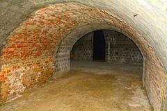 Проложите тоннель под районом замка Buda, Будапештом, Венгрией Стоковые Фотографии RF