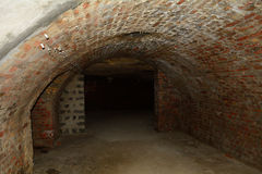 Проложите тоннель под районом замка Buda, Будапештом, Венгрией Стоковые Изображения RF
