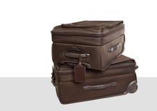 2 продолжают чемоданы Стоковые Изображения RF