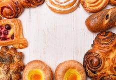 Продтовары хлебопекарни стоковое фото rf