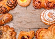 Продтовары хлебопекарни стоковое изображение