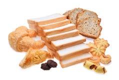 Продтовары хлебопекарни стоковые изображения